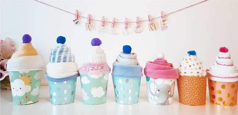 Cupcakes aus Stramplern