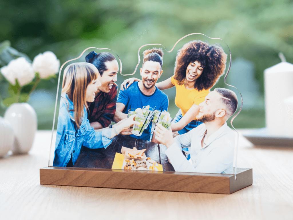 Cocktail mit Freunden